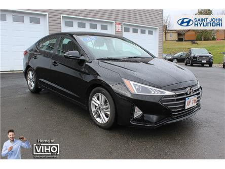 2020 Hyundai Elantra Preferred w/Sun & Safety Package (Stk: U2615) in Saint John - Image 1 of 19
