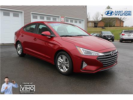 2020 Hyundai Elantra Preferred w/Sun & Safety Package (Stk: U2616) in Saint John - Image 1 of 20