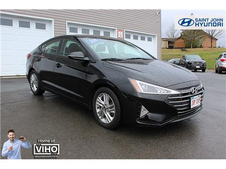 2020 Hyundai Elantra Preferred w/Sun & Safety Package (Stk: u2618) in Saint John - Image 1 of 20