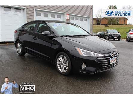 2020 Hyundai Elantra Preferred w/Sun & Safety Package (Stk: U2623) in Saint John - Image 1 of 20