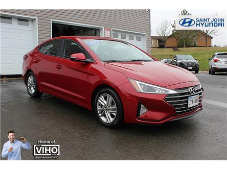 2020 Hyundai Elantra Preferred w/Sun & Safety Package (Stk: U2626) in Saint John - Image 1 of 19