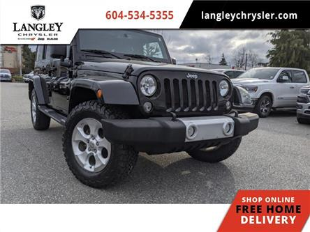 2015 Jeep Wrangler Unlimited Sahara (Stk: LC0258) in Surrey - Image 1 of 16