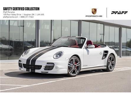 2012 Porsche 911 Turbo Cabriolet PDK (Stk: U8554) in Vaughan - Image 1 of 19