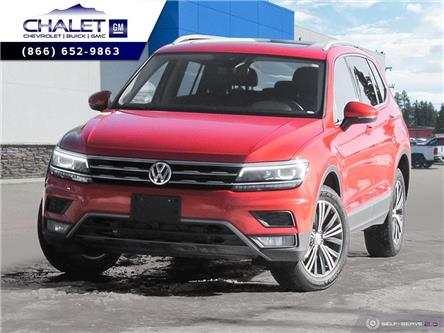 2018 Volkswagen Tiguan Highline (Stk: 20CY8407A) in Kimberley - Image 1 of 26