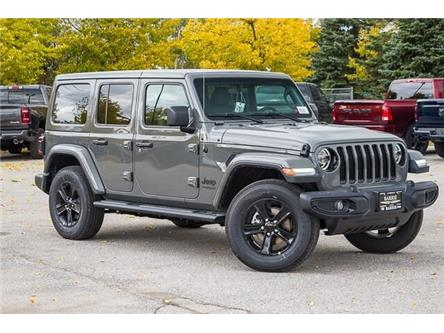 2020 Jeep Wrangler Unlimited Sahara (Stk: 33466) in Barrie - Image 1 of 24