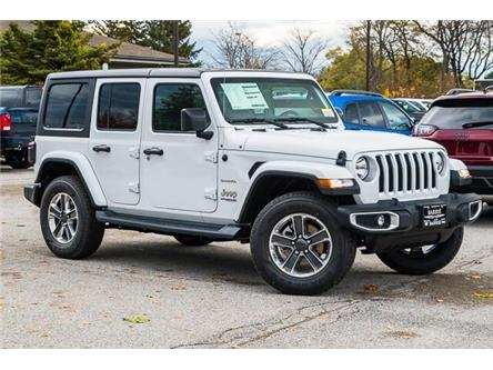 2020 Jeep Wrangler Unlimited Sahara (Stk: 33521) in Barrie - Image 1 of 29