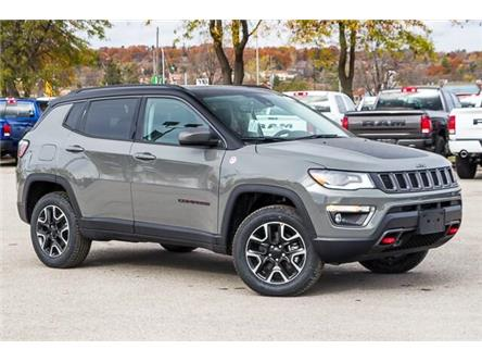 2020 Jeep Compass Trailhawk (Stk: 33517) in Barrie - Image 1 of 30