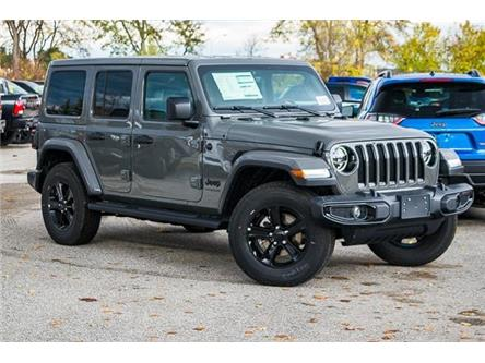 2020 Jeep Wrangler Unlimited Sahara (Stk: 33529) in Barrie - Image 1 of 28