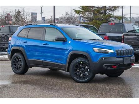 2020 Jeep Cherokee Trailhawk (Stk: 33565) in Barrie - Image 1 of 30