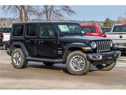 2020 Jeep Wrangler Unlimited Sahara (Stk: 33653) in Barrie - Image 1 of 29