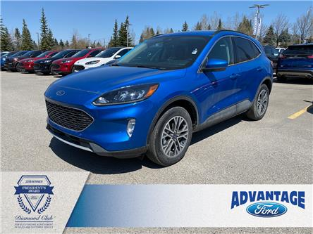 2020 Ford Escape SEL (Stk: L-059) in Calgary - Image 1 of 11
