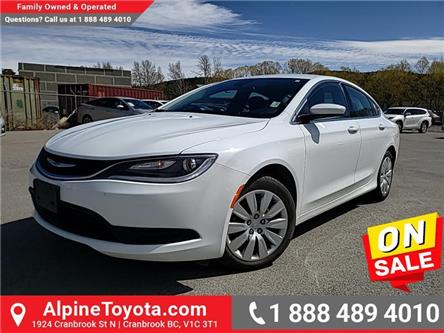 2015 Chrysler 200 LX (Stk: 3070417A) in Cranbrook - Image 1 of 21