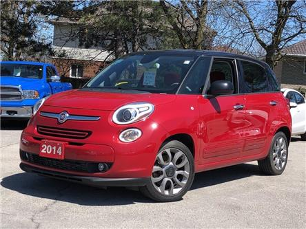 2014 Fiat 500L Pano Roof | Navi | Back up Cam | $68 weekly (oac) (Stk: 5563) in Stoney Creek - Image 1 of 22