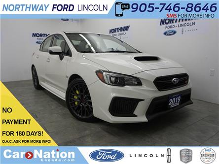 2019 Subaru WRX STI | 6 SPEED | REAR CAM  | AWD | LOW KM'S (Stk: 802616) in Brantford - Image 1 of 34
