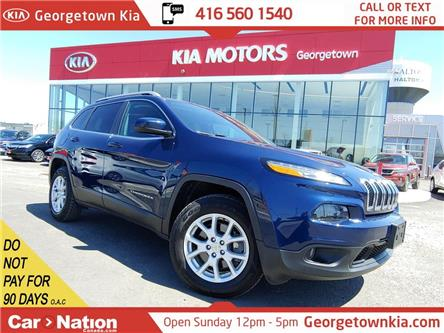2018 Jeep Cherokee North 4x4| PWR TAILGATE| PUSH START| LOW KMS| (Stk: P13283) in Georgetown - Image 1 of 50
