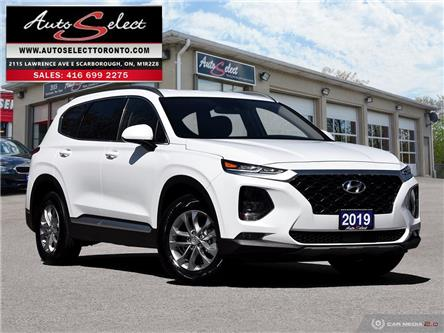 2019 Hyundai Santa Fe AWD (Stk: 1AHTF31) in Scarborough - Image 1 of 28