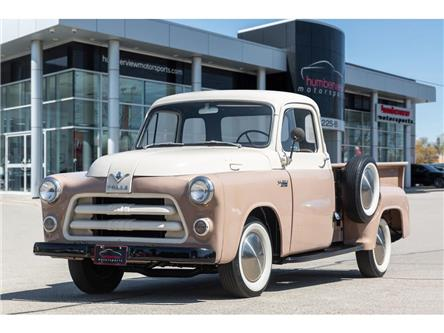 1955 Dodge Trucks V8|TWO TONED|4SPD MANUAL|FULLY RESTORED|RARE!! (Stk: 20HMS407) in Mississauga - Image 1 of 35