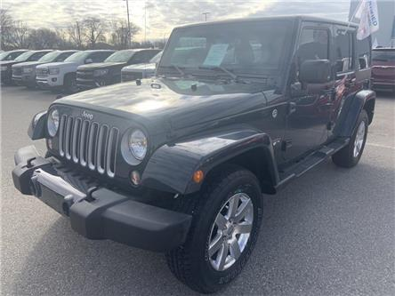 2016 Jeep Wrangler Unlimited Sahara (Stk: 200416A) in London - Image 1 of 14