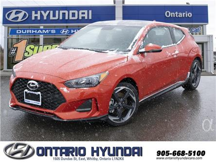 2020 Hyundai Veloster Turbo w/Two-Tone Paint (Stk: 023414) in Whitby - Image 1 of 16