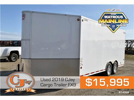 2019 CJ TRAILER 22' Cargo Trailer FX9  (Stk: K1405B) in Watrous - Image 1 of 8