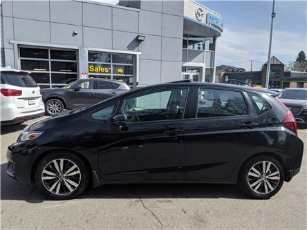 2015 Honda Fit EX-L Navi (Stk: H1858A) in Calgary - Image 1 of 20