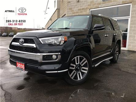 2016 Toyota 4Runner LIMITED 4WD 7 PASS, NAVI, LEATHER, SUNROOF, ALLOY, (Stk: 8987) in Brampton - Image 1 of 27