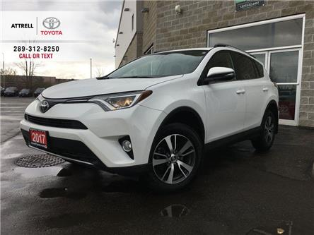 2017 Toyota RAV4 XLE FWD POWER HATCH, BSM, LDA, SUNROOF, ALLOYS, FO (Stk: 45339A) in Brampton - Image 1 of 26