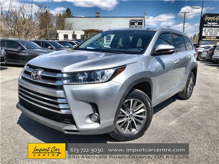 2017 Toyota Highlander XLE (Stk: 424082) in Ottawa - Image 1 of 26