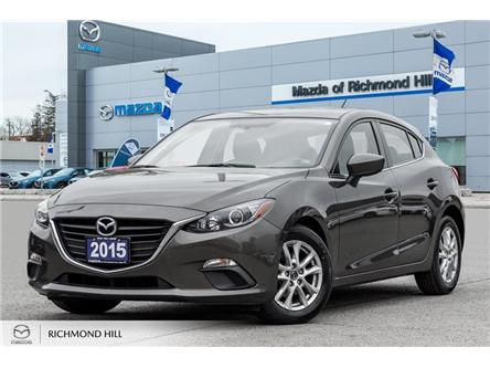2015 Mazda Mazda3 Sport GS (Stk: P0489) in Richmond Hill - Image 1 of 17