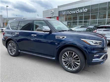 2019 Infiniti QX80 LUXE 7 Passenger (Stk: U16687) in Thornhill - Image 1 of 11
