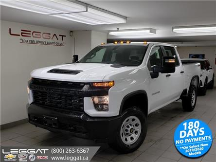 2020 Chevrolet Silverado 3500HD Work Truck (Stk: 205705) in Burlington - Image 1 of 20