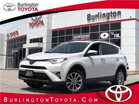 2017 Toyota RAV4 Limited (Stk: U11078) in Burlington - Image 1 of 20
