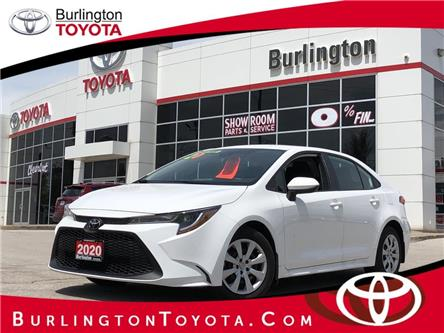 2020 Toyota Corolla LE (Stk: U10898) in Burlington - Image 1 of 18