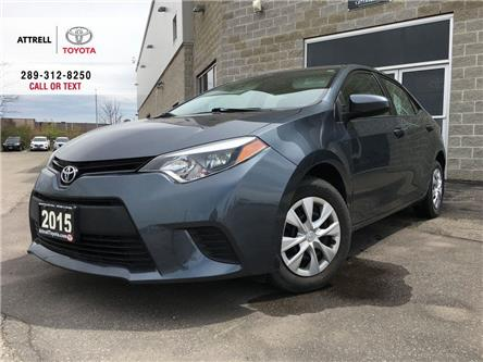 2015 Toyota Corolla CE POWER GROUP, STEERING WHEEL CONTROLS, ABS, USB (Stk: 47053A) in Brampton - Image 1 of 21