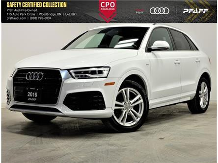 2016 Audi Q3 2.0T Technik (Stk: C7536) in Woodbridge - Image 1 of 16