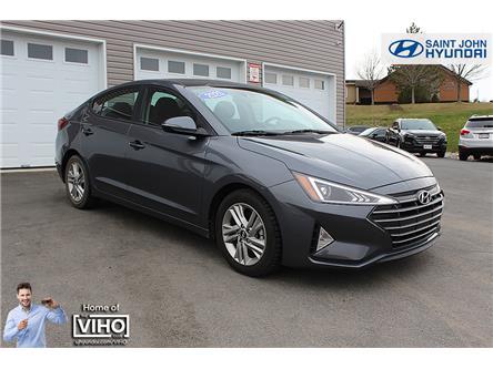 2020 Hyundai Elantra Preferred w/Sun & Safety Package (Stk: U2607) in Saint John - Image 1 of 20