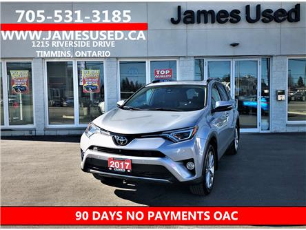 2017 Toyota RAV4 Limited (Stk: N20262A) in Timmins - Image 1 of 15