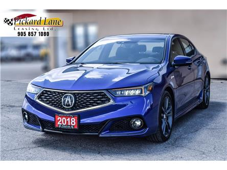 2018 Acura TLX Tech A-Spec (Stk: JA801003) in Bolton - Image 1 of 21