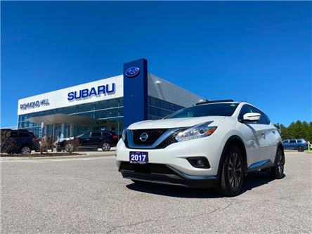 2017 Nissan Murano SL (Stk: T34082) in RICHMOND HILL - Image 1 of 15