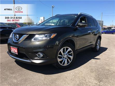 2014 Nissan Rogue SL AWD NAVI, LEATHER, PANO ROOF, ALLOYS, FOG, POWE (Stk: 46851A) in Brampton - Image 1 of 24