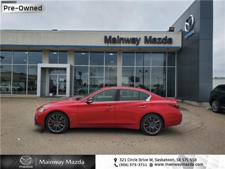 2018 Infiniti Q50 Red Sport 400 AWD (Stk: M20008A) in Saskatoon - Image 1 of 24