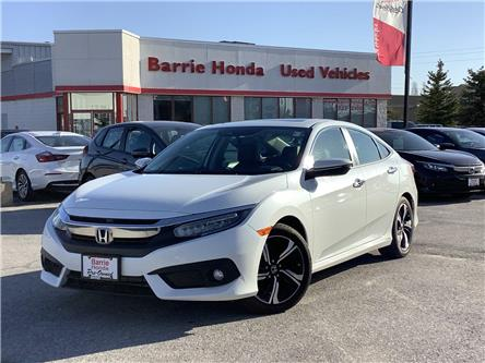 2017 Honda Civic Touring (Stk: U17246) in Barrie - Image 1 of 25