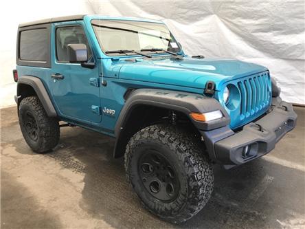 2020 Jeep Wrangler Sport (Stk: 201202) in Thunder Bay - Image 1 of 17
