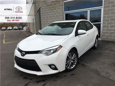 2014 Toyota Corolla MARCH MADNESS LE TECH LEATHER, SUNROOF, HEATED SEA (Stk: 8998) in Brampton - Image 1 of 24