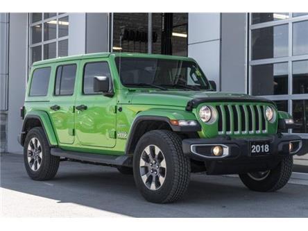 2018 Jeep Wrangler Unlimited Sahara (Stk: 43620AU) in Innisfil - Image 1 of 25