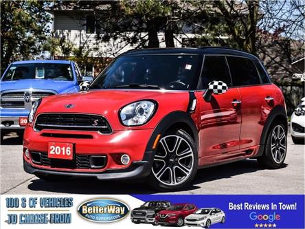 2016 MINI Cooper S Countryman COUNTRYMAN S |LEATHER |SUNROOF |6 SPEED MANUAL | (Stk: 5595) in Stoney Creek - Image 1 of 25
