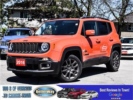 2016 Jeep Renegade 75th Anniversary|SUNROOF |4X4 |LOW KM (Stk: 5631) in Stoney Creek - Image 1 of 27