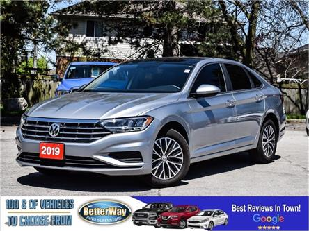 2019 Volkswagen Jetta Leather |Sunroof | Back up Cam| $94 Weekly (oac) (Stk: 5557) in Stoney Creek - Image 1 of 26