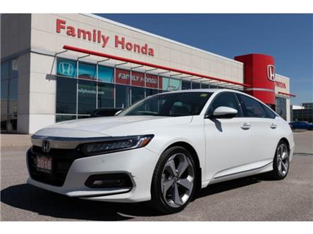2018 Honda Accord Sedan Touring CVT | LEATHER | NAVIGATION | ECO | SPORT (Stk: 810199T) in Brampton - Image 1 of 15