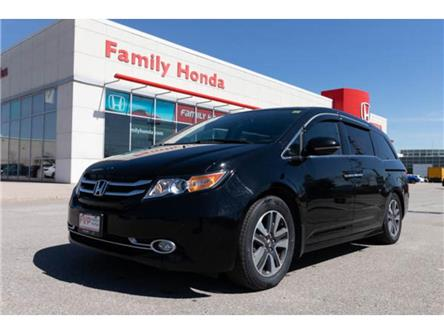 2016 Honda Odyssey 4dr Wgn Touring | LTHR HEAT SEATS | BACK UP CAM (Stk: 501467T) in Brampton - Image 1 of 15